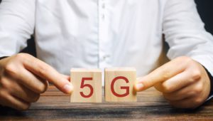5G Blocks Held between Hands