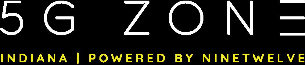 Indiana 5G Zone Logo Powered by NineTwelve
